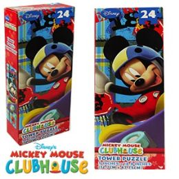 36 Bulk Disney's Mickey's Clubhouse Tower Jigsaw Puzzles.