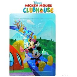 36 Bulk Disney's Mickey's Clubhouse Foil Puzzles