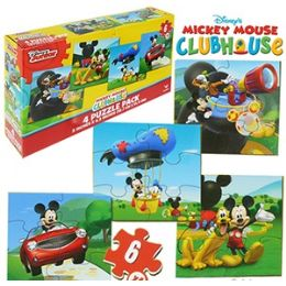 24 Bulk Disney's Mickey's Clubhouse Puzzles