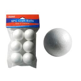 96 Bulk 6 Piece Craft Balls