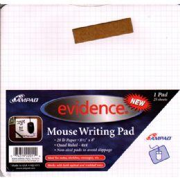 "48 Bulk Ampad ""evidence Mouse & Graph Pad 25 Sheets"