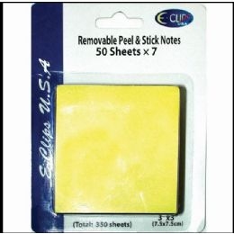"60 Bulk Peel & Stick Notes, 3""x3"", 50 Sheets Each, 7 Pk., Yellow"