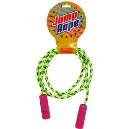96 Bulk Skipping Jump Rope W/peg Able Header