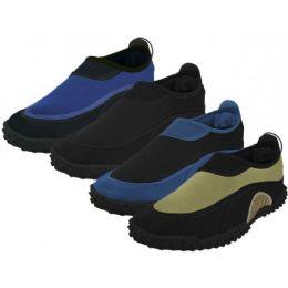 """36 Bulk Men's """"wave"""" Water Shoes"""