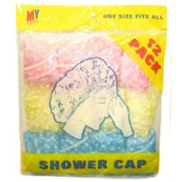 72 Bulk 12 Piece Shower Caps