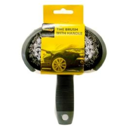 96 Bulk Tire Brush With Handle