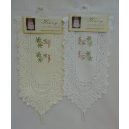 60 Bulk Lace Table Runner [palm Trees]