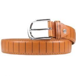 36 Bulk Men's Fashion Brown Belt