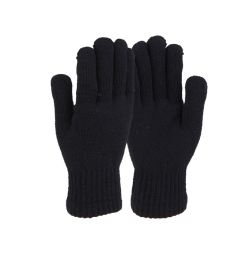 72 Bulk Ladies Winter Gloves With Fur