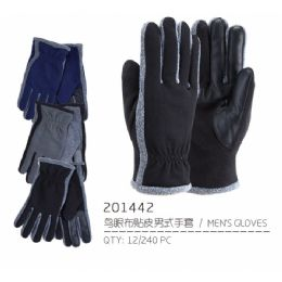72 Bulk Men's Touch Screen Gloves
