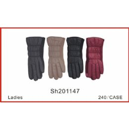 48 Bulk Ladies Touch Screen Gloves