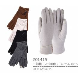 48 Bulk Lady's Winter Touch Glove