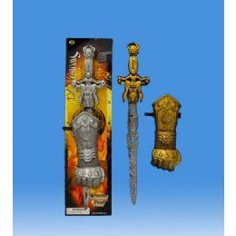 48 Bulk Mediaval Sword In Blister Card