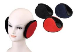 72 Bulk Adult Assorted Color Earmuffs