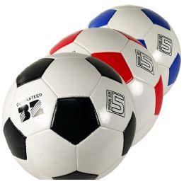 10 Bulk Assorted Official Size Soccer Balls