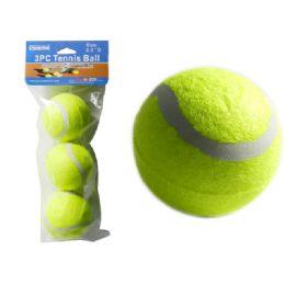 96 Bulk 3 Pc Tennis Balls