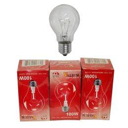 80 Bulk 3pc Clear Light Bulbs 100w