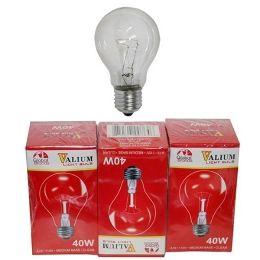 80 Bulk 3pc Clear Light Bulbs 40w