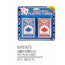 72 Bulk 2 Piece Playing Card