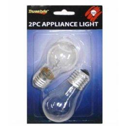 96 Bulk 2pc 40 Watt Appliance Light Bulbs