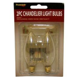 96 Bulk 2pc Chandelier Light Bulbs Narrow Base