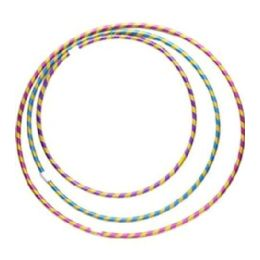 108 Bulk Hula Hoop Stripe Glitter Assorted