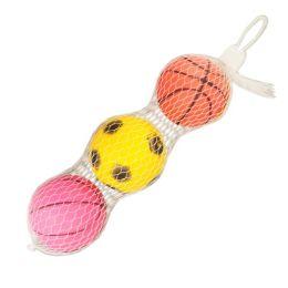 120 Bulk 3pc Small Ball In Net Bag