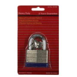 72 Bulk 50mm Laminated Locks