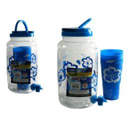 24 Bulk Water Dispenser+4pc Tumblers