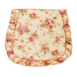48 Bulk Floral Seat Cover With Ruffle