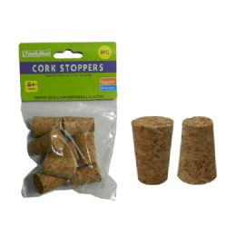 144 Bulk 8pc Craft Cork Stoppers
