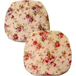 96 Bulk Chair Cushoin Assorted Flower Style
