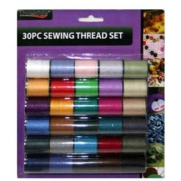 96 Bulk 30 Piece Sewing Thread Set 8.5x7.2 in
