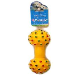 144 Bulk Dog Squeeze Toy 15cm