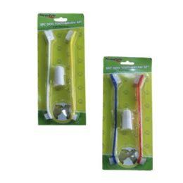 96 Bulk 2 Piece Dog Toothbrush Set