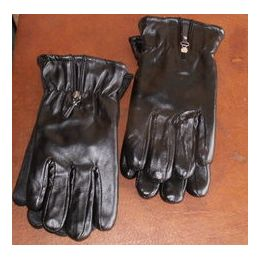 24 Bulk Ladies Gloves - Heavy Leather Look Winter