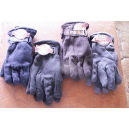 60 Bulk Mens Fleece Winter Gloves