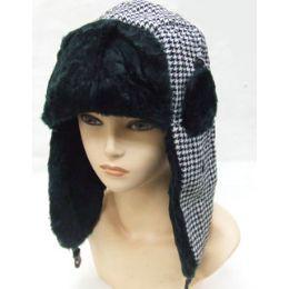 24 Bulk Plaid Trapper Hat