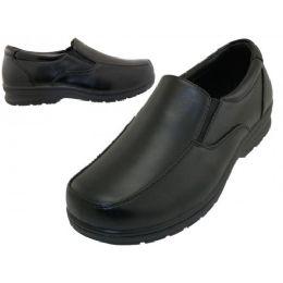 24 Bulk Boy's Slip On Dress Shoes & School Shoe