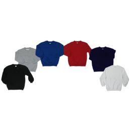 36 Bulk Boys Crew Neck Fleece Sweater