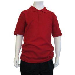 72 Bulk Boys School Polo Shirts