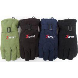 72 Bulk Unisex Sport Fleece Gloves