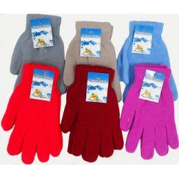 72 Bulk Large Magic Gloves Assorted Colors