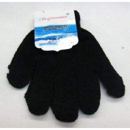 96 Bulk Kids Black Magic Glove