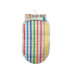 12 Bulk Colorful Bath Mat