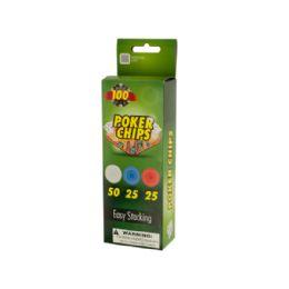 72 Bulk Plastic Poker Chips
