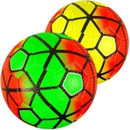 48 Bulk No. 2 Neon Soccer Balls