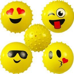 192 Bulk Emoji Knobby Balls