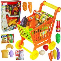 12 Bulk 16 Piece Shopping Cart Play Sets