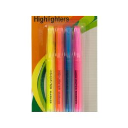 54 Bulk QuicK-Drying Chisel Tip Highlighters Set
